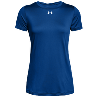 Under Armour Team Locker S/S T-Shirt - Women's - Blue / Silver