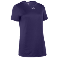 Under Armour Team Locker S/S T-Shirt - Women's - Purple / Silver