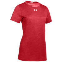 Under Armour Team Locker S/S T-Shirt - Women's - Red / Silver
