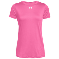 Under Armour Team Locker S/S T-Shirt - Women's - Pink / Silver