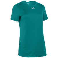 Under Armour Team Locker S/S T-Shirt - Women's - Aqua / Silver