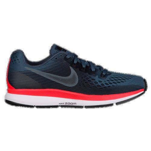 b9a187259a555 Nike Air Zoom Pegasus 34 - Women s - Running - Shoes - Blue  Fox Black Bright Crimson White