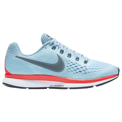 a929f647c1d33 Nike Air Zoom Pegasus 34 - Women s - Running - Shoes - Ice Blue Blue  Fox Bright Crimson White