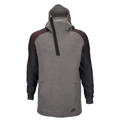 Nike Tech Fleece Half Zip TN Hoodie - Men's - Casual - Clothing ...