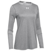 Under Armour Team Locker L/S T-Shirt - Women's - Grey / Black