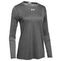 Under Armour Team Locker L/S T-Shirt - Women's - Grey / Silver