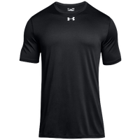 Under Armour Team Locker 2.0 S/S T-Shirt - Men's - Black / Silver