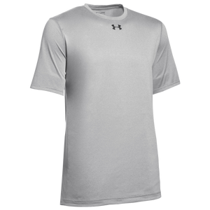 Under Armour Team Locker 2.0 S/S T-Shirt - Men's - True Grey Heather/Black