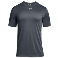 Under Armour Team Locker 2.0 S/S T-Shirt - Men's - Grey / Silver