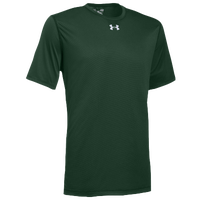 Under Armour Team Locker 2.0 S/S T-Shirt - Men's - Dark Green / White