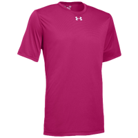 Under Armour Team Locker 2.0 S/S T-Shirt - Men's - Pink / Silver