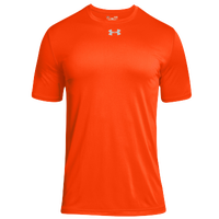Under Armour Team Locker 2.0 S/S T-Shirt - Men's - Orange / Silver