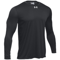 Under Armour Team Locker 2.0 L/S T-Shirt - Men's - Black / Silver