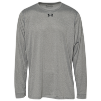 Under Armour Team Locker 2.0 L/S T-Shirt - Men's - Grey / Silver