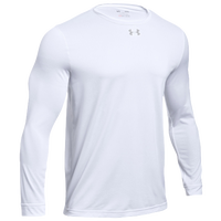 Under Armour Team Locker 2.0 L/S T-Shirt - Men's - White / Silver