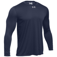 Under Armour Team Locker 2.0 L/S T-Shirt - Men's - Navy / Silver
