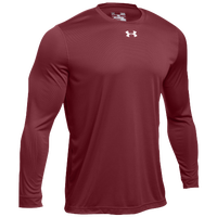 Under Armour Team Locker 2.0 L/S T-Shirt - Men's - Cardinal / White