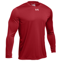 Under Armour Team Locker 2.0 L/S T-Shirt - Men's - Red / Silver