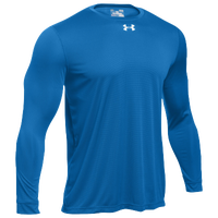 Under Armour Team Locker 2.0 L/S T-Shirt - Men's - Blue / Silver