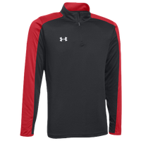 Under Armour Team Novelty Locker 1/4 Zip - Men's - Black / Red