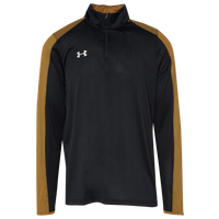 Under Armour Team Novelty Locker 1/4 Zip - Men's - Black / Gold