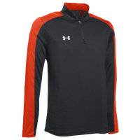 Under Armour Team Novelty Locker 1/4 Zip - Men's - Black / Orange