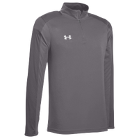 Under Armour Team Novelty Locker 1/4 Zip - Men's - Grey / Silver