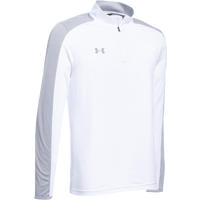 Under Armour Team Novelty Locker 1/4 Zip - Men's - White / Silver