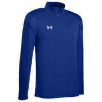 Under Armour Team Novelty Locker 1/4 Zip - Men's - Blue / Silver