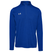 Under Armour Team Novelty Locker 1/4 Zip - Men's - Blue