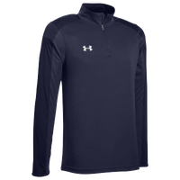 Under Armour Team Novelty Locker 1/4 Zip - Men's - Navy / Silver
