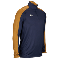 Under Armour Team Novelty Locker 1/4 Zip - Men's - Navy / Gold