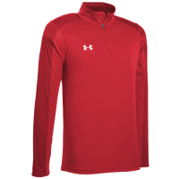 Under Armour Team Novelty Locker 1/4 Zip - Men's - Red / Silver