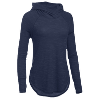Under Armour Team Stadium Hoodie - Women's - Navy / Grey