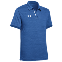 Under Armour Team Elevated Polo - Men's - Blue / White