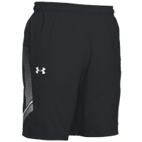 Under Armour Team Woven Training Shorts - Men's - Black / White