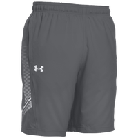 Under Armour Team Woven Training Shorts - Men's - Grey / White