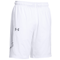 Under Armour Team Woven Training Shorts - Men's - White / Grey
