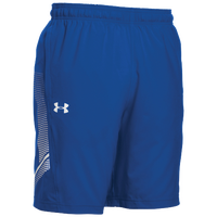 Under Armour Team Woven Training Shorts - Men's - Blue / White