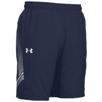 Under Armour Team Woven Training Shorts - Men's - Navy / White