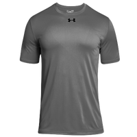 Under Armour Team Locker 2.0 S/S T-Shirt - Boys' Grade School - Grey / Black