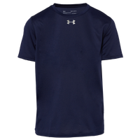 Under Armour Team Locker 2.0 S/S T-Shirt - Boys' Grade School - Navy / Silver