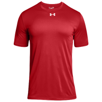 Under Armour Team Locker 2.0 S/S T-Shirt - Boys' Grade School - Red / White