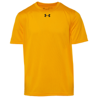 Under Armour Team Locker 2.0 S/S T-Shirt - Boys' Grade School - Gold / Black
