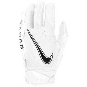 Nike Vapor Jet 6.0 Receiver Gloves - Men's - White/White/Black