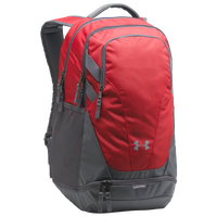 Under Armour Team Hustle 3.0 Backpack - Red / Grey