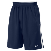 Nike Team Face-Off Game Shorts - Men's - Navy / White