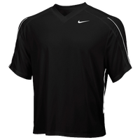 Nike Team Face-Off Game Jersey - Men's - Black / White