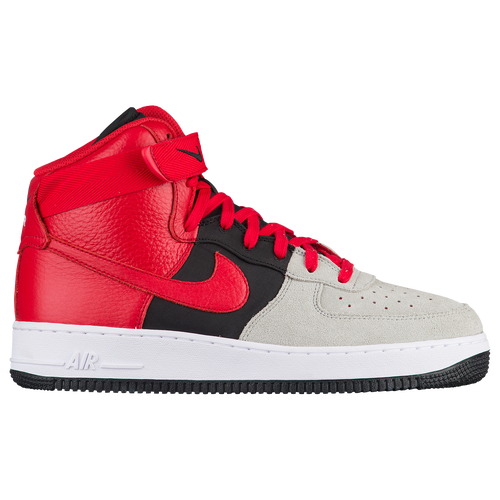Nike Air Force 1 High LV8 - Men's - Casual - Shoes - Wolf Grey/University  Red/Black