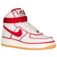 nike air force 1 red white and black